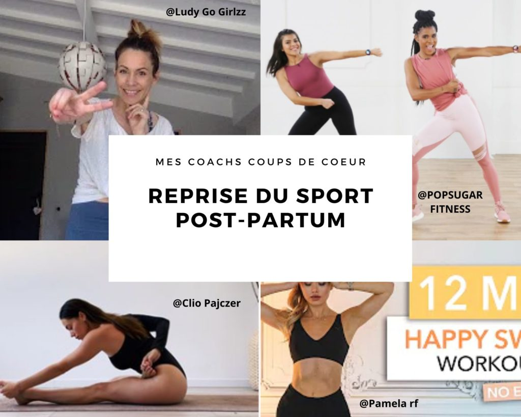 Reprise du sport post-partum !